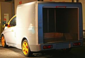 ё-Фургон багажное отделение